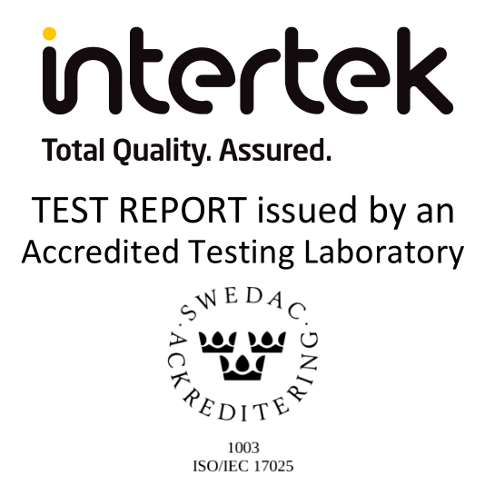 everActive tested by Intertek