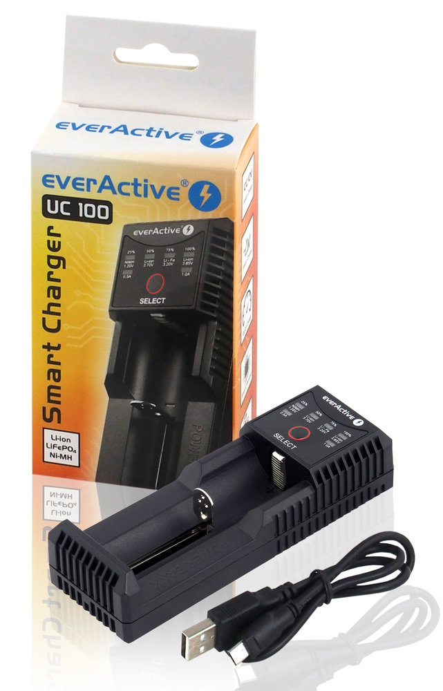 New everActive UC-100 charger