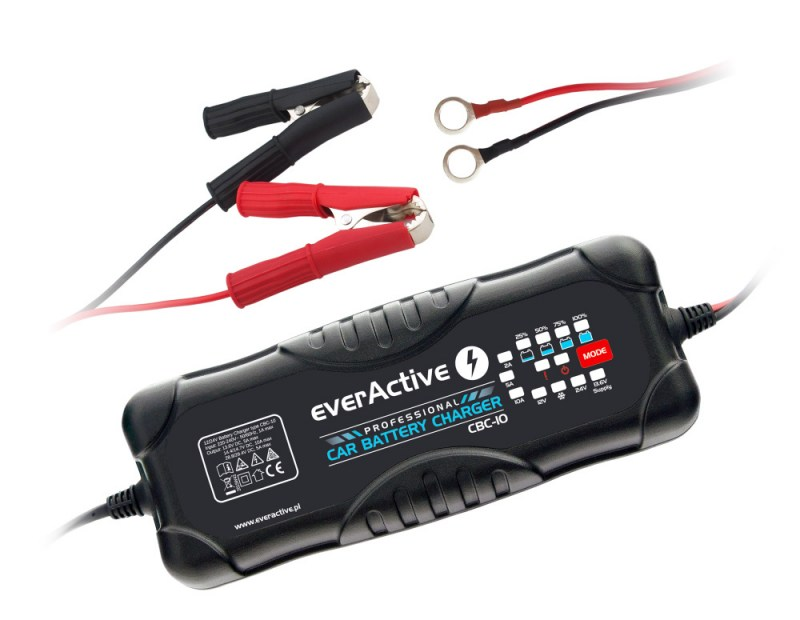 everActive CBC-10 car battery charger
