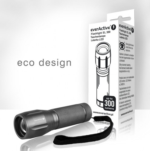 everActive EL-300 flashlight