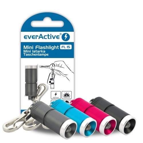 mini flashlight, key chain everActive FL-15