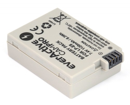 everActive CamPro battery - replacement for Canon LP-E8