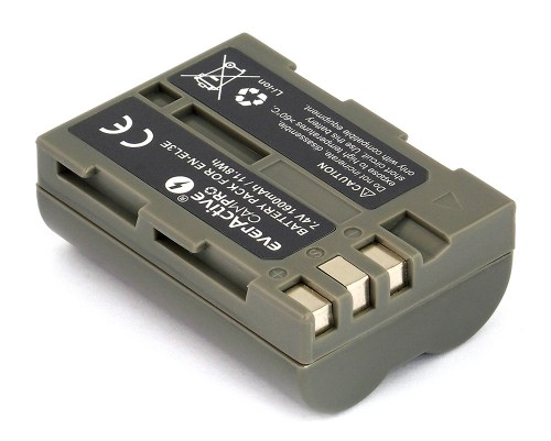 everActive CamPro battery - replacement for Nikon EN-EL3 / EN-EL3E